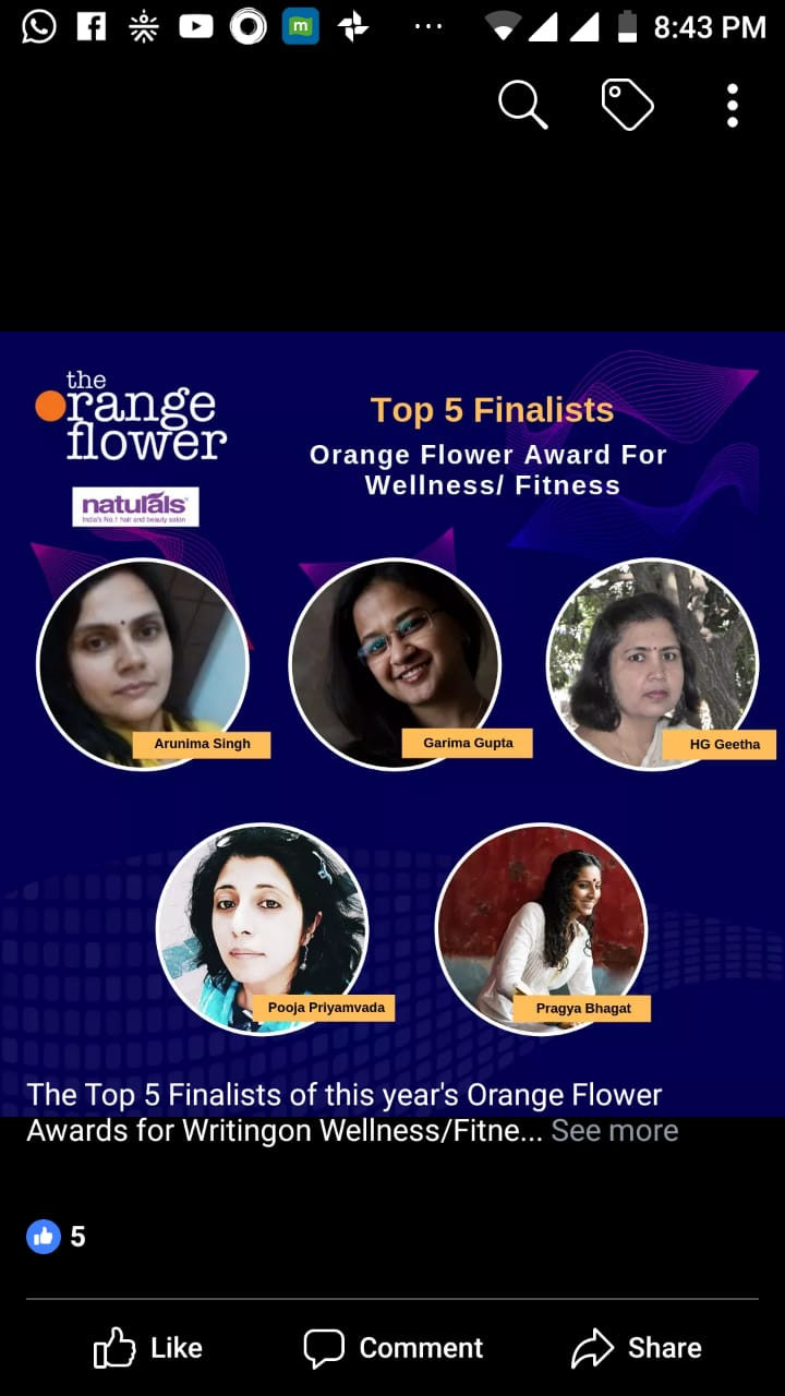 Orange Flower Awards for wellness_Finalists_2018